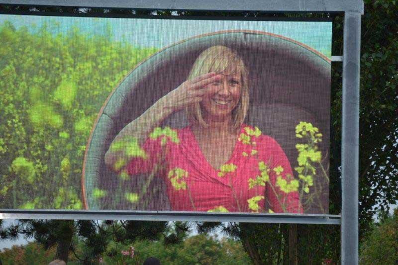 Andrea Kiewel über den ZDF-Fernsehgarten