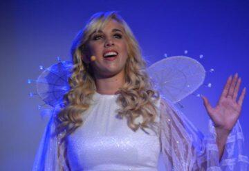 Annemarie Eilfeld im Weihnachts-Musical