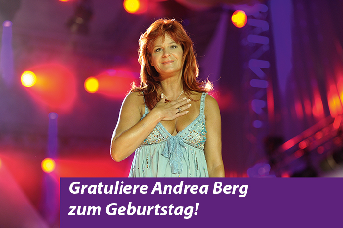 Eine Schlagerqueen wird 50 – Happy Birthday, Andrea Berg!