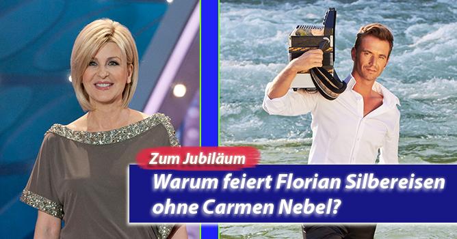 20 Jahre Feste – Warum feiert Florian Silbereisen ohne Carmen Nebel?