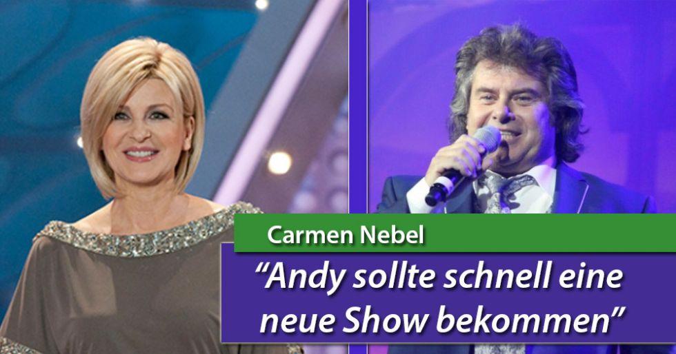 """Carmen Nebel: """"Andy Borg soll schnell eine neue Show bekommen"""""""