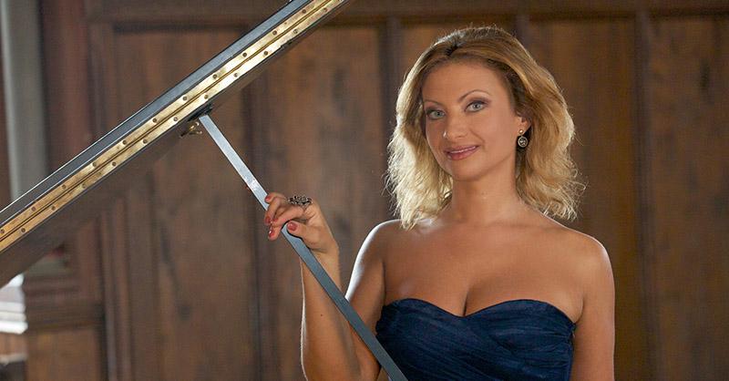 Elena Nuzman erfüllt sich einen Liebestraum