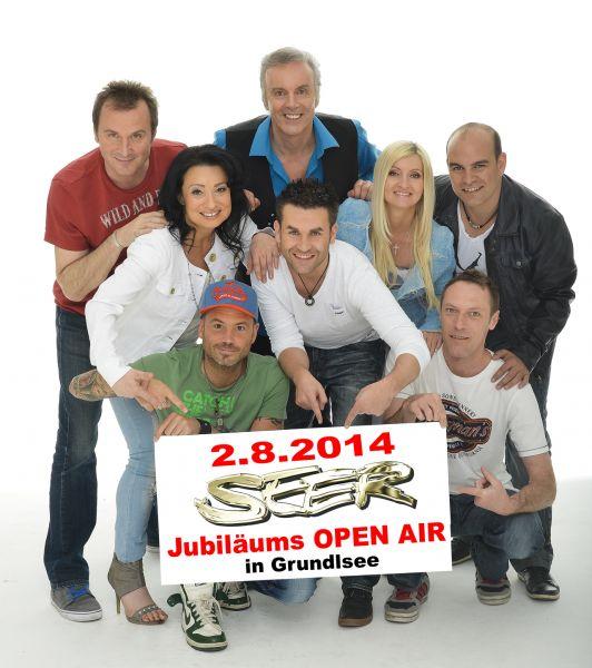 Die SEER – Jubiläums Open Air am 2. August 2014