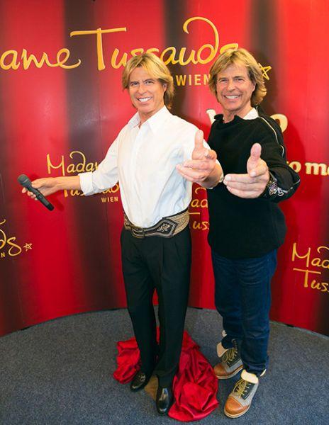Hansi Hinterseer aus Kitzbühel zieht bei Madame Tussaud in Wien ein