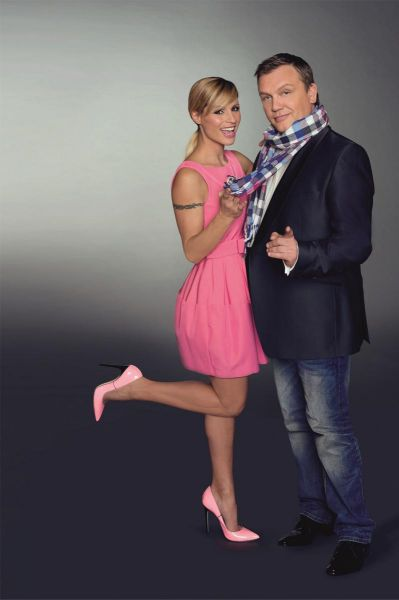 Hape Kerkeling im Duett mit Michelle Hunziker