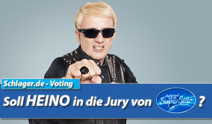 Voting: Soll Heino in die DSDS-Jury?