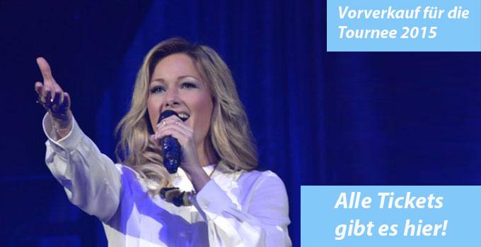 Tickets für Helene Fischer – Das Live-Erlebnis 2015