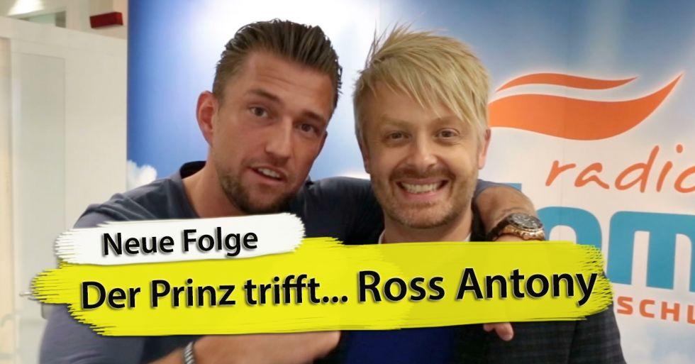 """Ross Antony im Interview in einer neuen Folge von """"Der Prinz trifft"""""""