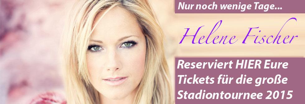 Helene Fischer – Sichert Euch Tickets für die Stadiontournee 2015