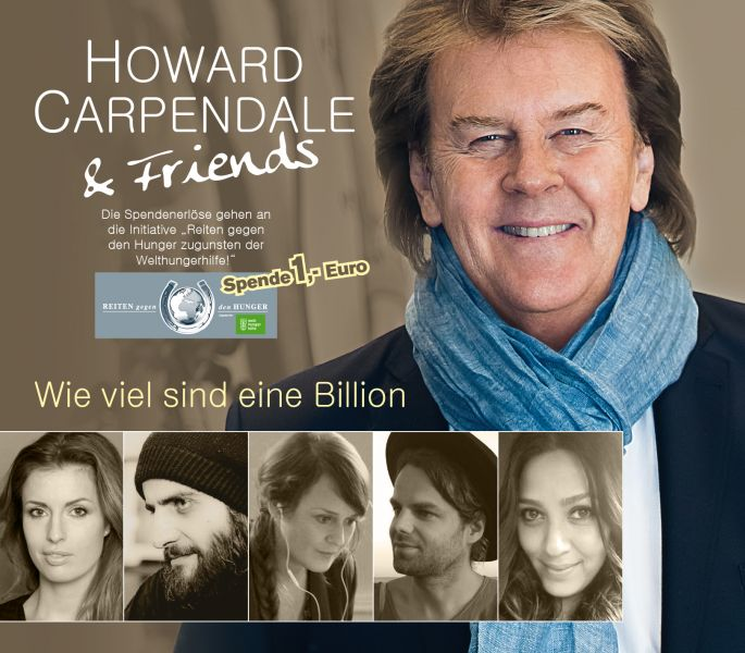 Schlager-Star Howard Carpendale & Friends engagieren sich gegen den Hunger