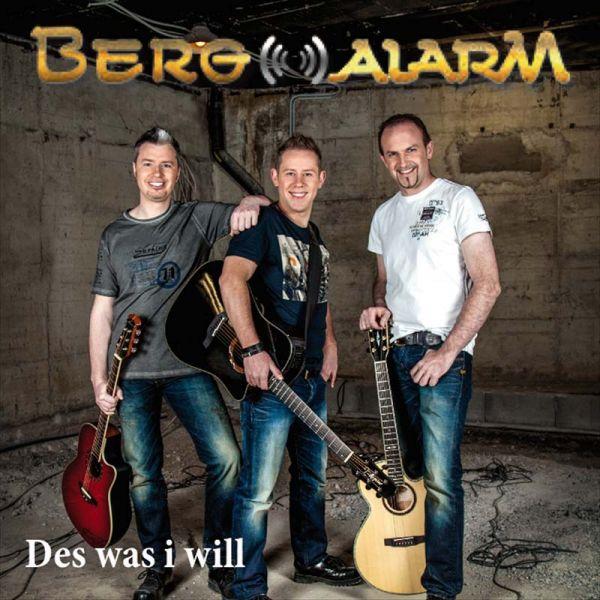 """Drei Freunde singen """"Des was i will"""" in BERGALARM"""