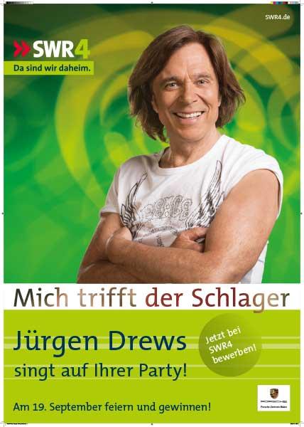 Jürgen Drews singt auf Deiner Feier! Die SWR4-Aktion
