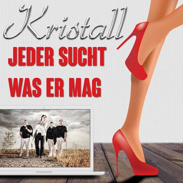 "Kristalls Single ""Jeder sucht was er mag"" in Dance-Version"