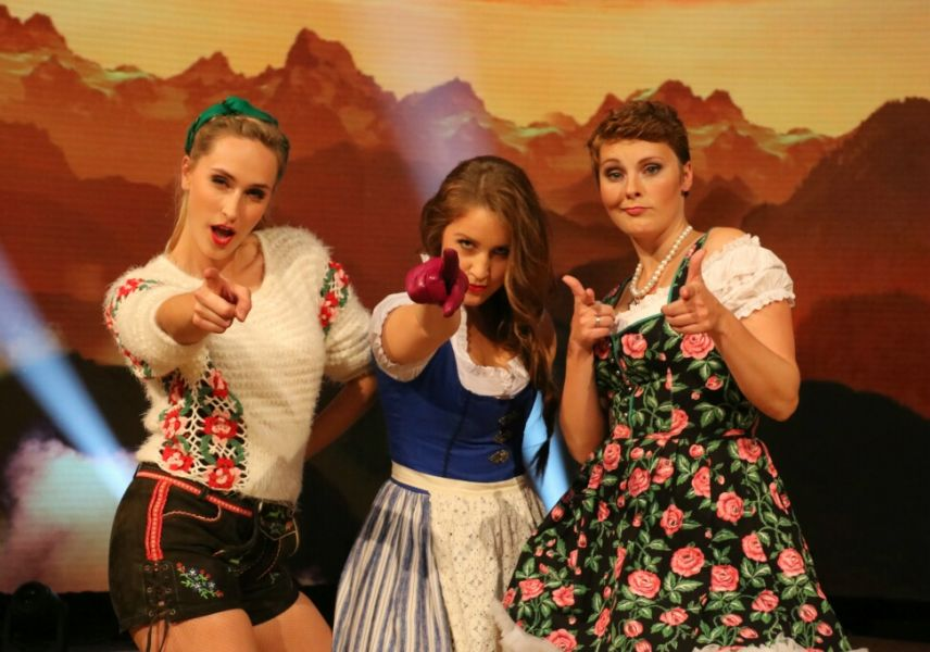 """Die 3 Mädels von La Goassn wollen """"Mehr mehr mehr"""""""