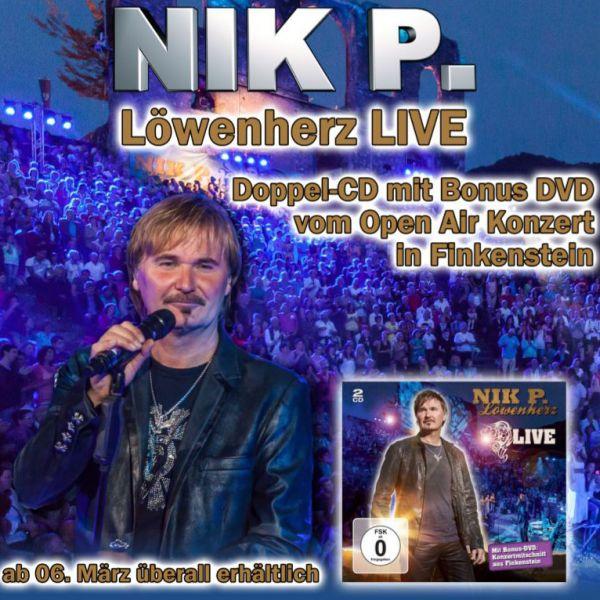 """Nik P. hat ein """"Löwenherz"""" als Doppel-CD"""