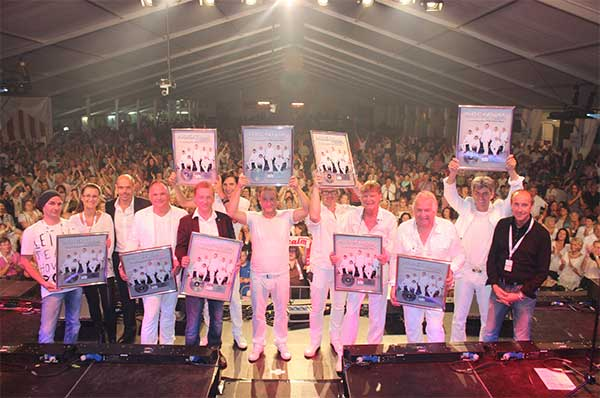 Tausende Besucher feierten das Nockalm Quintett!