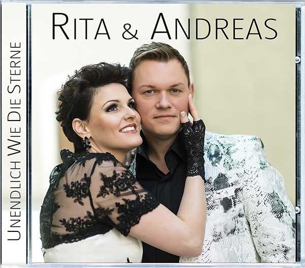Der CD-Tipp! Rita & Andreas mit ´Unendlich wie die Sterne´