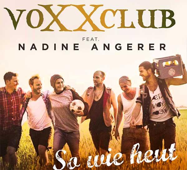voXXclub und Nadine Angerer nehmen Song zur Frauen-WM 2015 auf