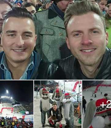 Familienausflug Andreas und Willi Gabalier