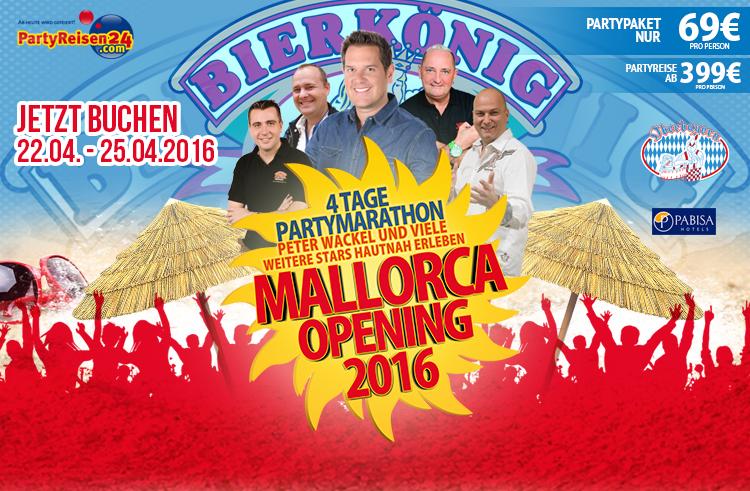 Mallorca Opening: Seid die Ersten auf der Insel!