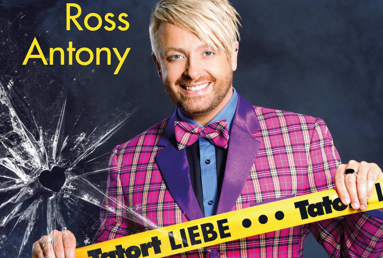 Ross Antony präsentiert heute neue Single und Albumcover