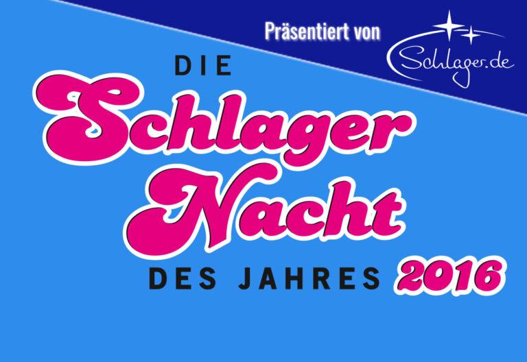 Schlager.de ist Medienpartner der Schlagernächte des Jahres