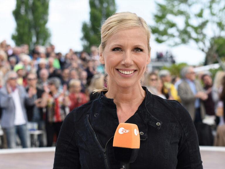 Andrea Berg und Maite Kelly im ZDF-Fernsehgarten