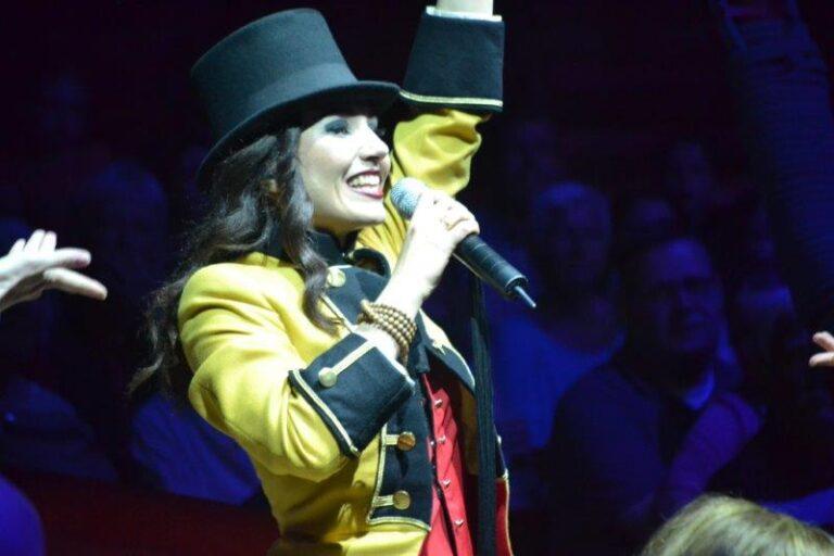 BLUMA als Special Guest bei der Circus Roncalli- Tour