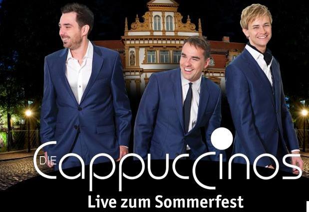 Mit den Cappuccinos LIVE im Schlosshotel Schkopau