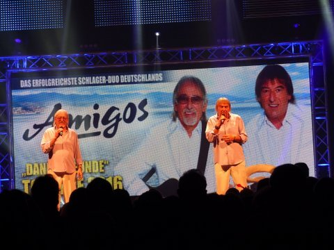Die Amigos auf ihrer Tournee in München