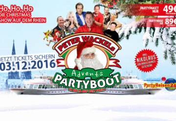 Schnell Tickets buchen: Mega-Party im Advent!