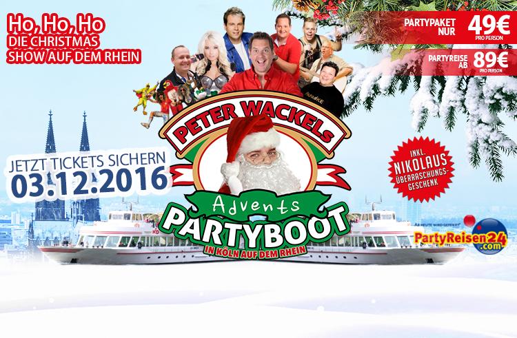 Schnell Tickets buchen: Mega-Party im Advent!
