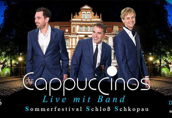 Wir verlosen Tickets für das Konzert der Cappuccinos am 06. August
