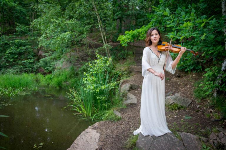 Franziska Wiese weckt Träume mit der Violine