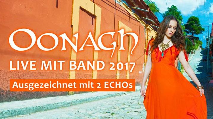 Die fabelhafte Welt von Oonagh – LIVE mit Band 2017