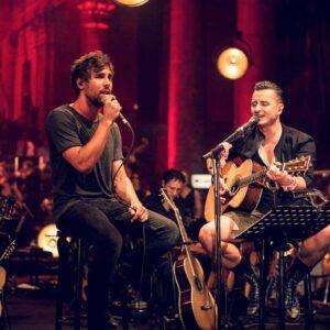 Bilder vom MTV Unplugged Konzert im Odeon-Theater in Wien