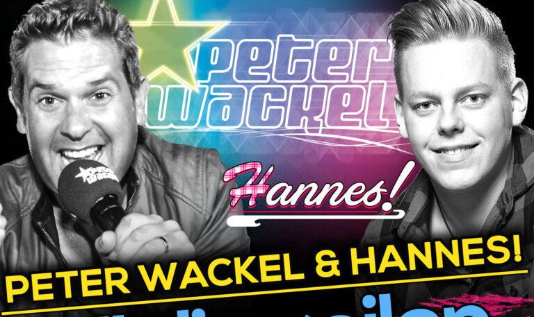 """Pop-Schlager von Peter Wackel & HANNES!: """"All die geilen Jahre"""""""