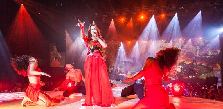 Fulminanter Tourneeauftakt von Andrea Berg