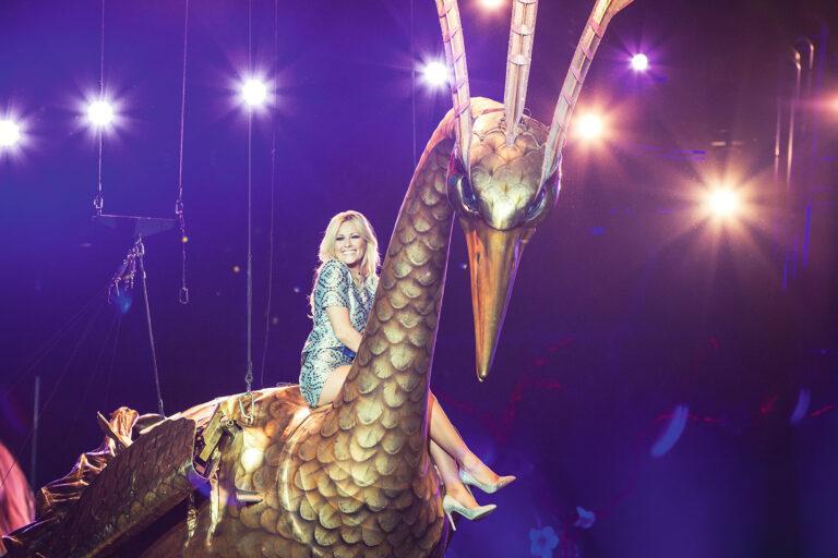 Helene Fischer lässt sich vom Cirque du Soleil inspirieren