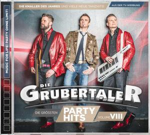 "Die Grubertaler - ""Die größten Partyhits – Volume VIII"""