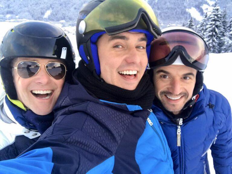 Klubbb3 entspannen beim Skifahren