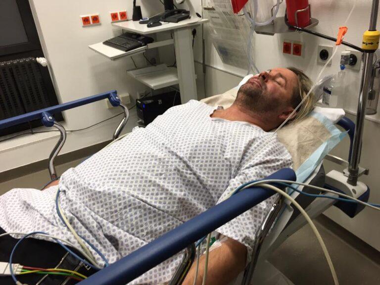 Schock! Frank Cordes brutal zusammengeschlagen