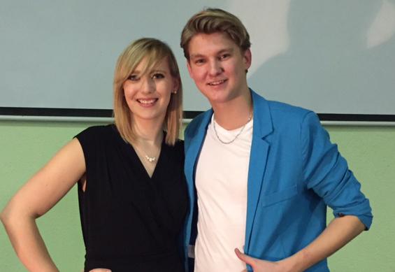 Ein Konzert in Sittichenbach mit Franziska und Robin Leon