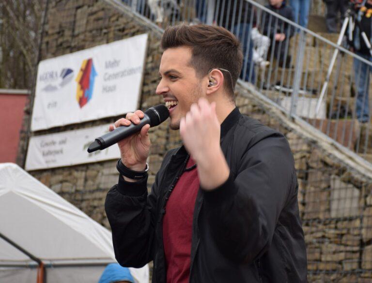 MAX WEYERS beim Auftrittsmarathon am Karnevalswochenende 2017