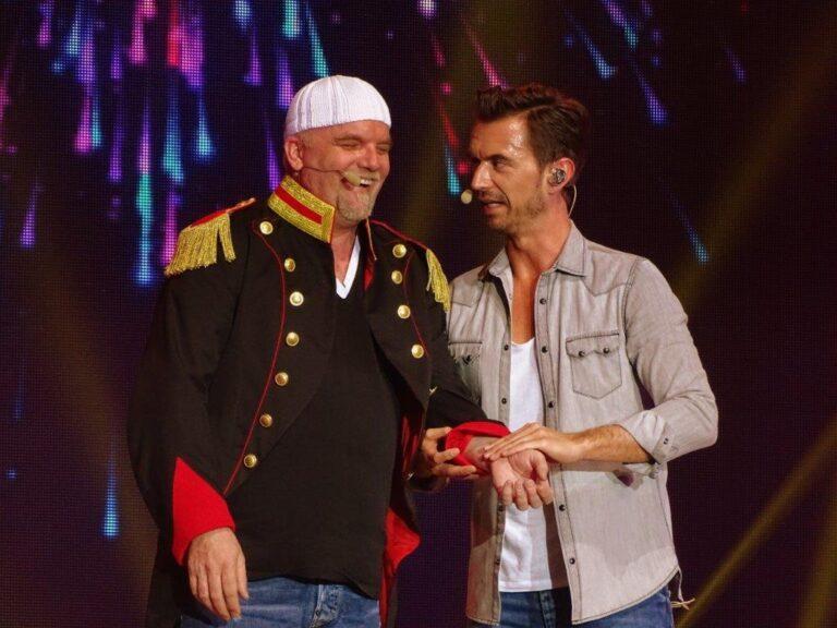 """DJ Ötzi bei """"Volle Kanne"""" im ZDF"""