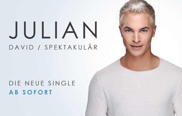 Es wird SPEKTA-A-KULÄR mit Julian David!