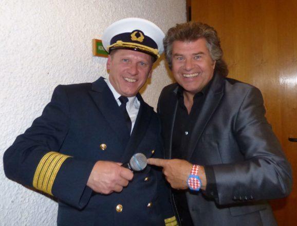 Captain Freddy bittet mit Stargast Andy Borg zum Tanz