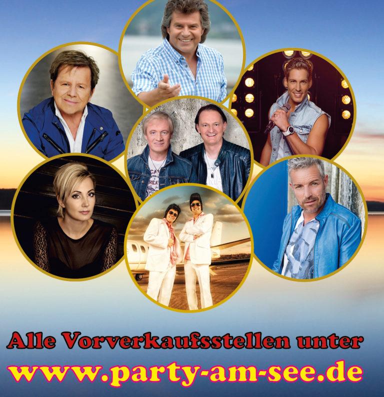Schlagernacht & Mallorca-Party am Brombachsee mit vielen Stars