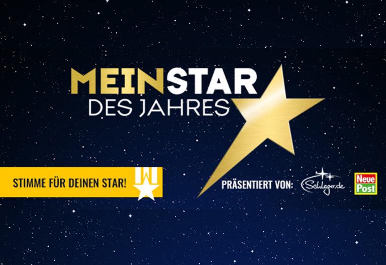 """Die Online-Abstimmung des """"Mein Star des Jahres"""" ist zu Ende!"""