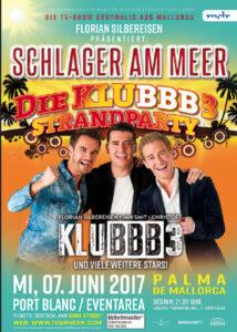 """Plakat """"Schlager am Meer"""""""